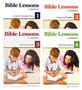 Bible Lessons for Juniors, 4 Volumes