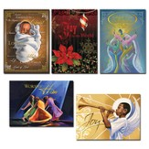 Assorted, Joy To the World Christmas Cards, Box of 15