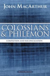 Colossians and Philemon: Completion and Reconciliation in Christ - eBook