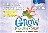Grow, Proclaim, Serve! Toddlers & Twos Bible Story Picture Cards Winter 2014-15: Grow Your Faith by Leaps and Bounds