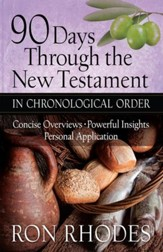90 Days Through the New Testament in Chronological Order: *Helpful Timeline *Powerful Insights *Personal Application - eBook