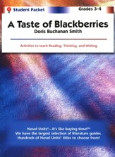 A Taste of Blackberries, Novel Units Student Packet Grades 3-4
