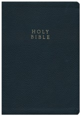 KJV Reformation Heritage Study Bible, Genuine Leather, Black - Imperfectly Imprinted Bibles