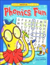 First Word Search: Phonics Fun