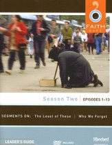 Faith Cafe Season Two: Episodes 1-13, Leader's Guide with DVD