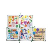 2014 VBS Workshop of Wonders: Imagine a Build with God - Patchwork Piece Craft Day 3 (package of 6)
