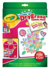 Crayola, Fold and Go Dry-Erase Travel Pack