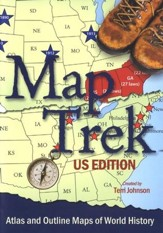 Map Trek, U.S. Edition on CD-ROM
