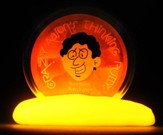 Amber Glow-In-the-Dark Putty
