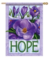 Hope, Crocus Flag, Large