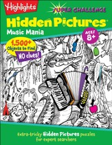 Music Mania: Highlights Hidden Pictures Super Challenge