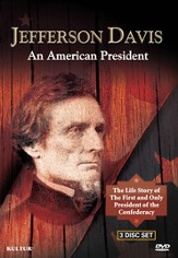 Jefferson Davis: An American President 3 DVD Set