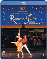 Romeo and Juliet: Paris Opera & Ballet, Blu-ray