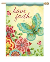 Have Faith Flag, Large