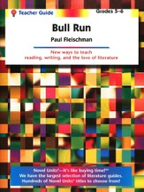 Bull Run, Novel Units Teacher's Guide, Grades 5-6