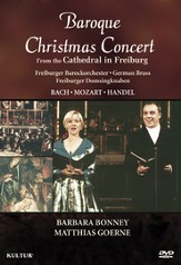 Baroque Christmas Concert From the Cathedral in Freiburg DVD