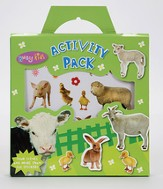 Busy Kids Sticker Pack Animals Slim