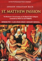 St. Matthew Passion DVD (Bach)