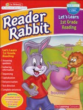 Reader Rabbit Let's Learn First Grade Reading