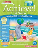 Achieve!: First Grade: Building Skills for School Success