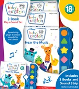 Baby Einstein: Play-a-Sound 3-Book Set
