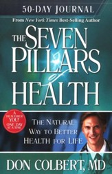 The Seven Pillars of Health: 50-Day Journal  - Slightly Imperfect