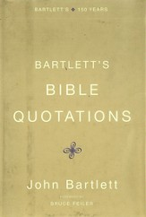 Bartlett's Bible Quotations - eBook