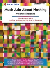 Much Ado About Nothing, Novel Units Teacher's Guide, Grades 9-12