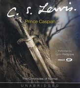 The Chronicles of Narnia:  Prince Caspian - Unabridged Audiobook on CD - Slightly Imperfect