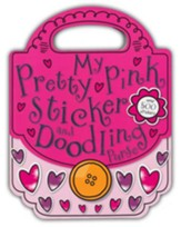 My Pretty Pink Sticker and Doodling Purse