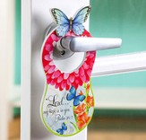 Butterfly Door Hanger, Psalm 39:7