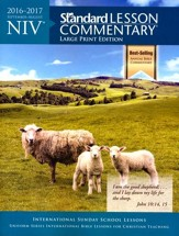 NIV Standard Lesson Commentary 2016-2017, Large-print softcover