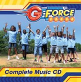 VBS 2015 G-Force: God's Love in Action - Complete Music CD