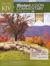 KJV Standard Lesson Commentary 2016-2017, Deluxe Edition softcover