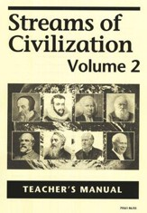 Streams of Civilization, Volume 2, Teacher's Manual