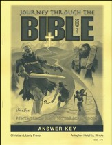 Journey Through the Bible Book 1: Pentateuch and Historical Books Answer Key, Grade 7
