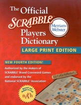 The Official Scrabble Players Dictionary, Large Print Fourth Edition