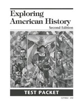 Exploring American History Second Edition  Test Packet - Slightly Imperfect