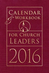 Calendar & Workbook for Church Leaders 2016  Engagement Planner