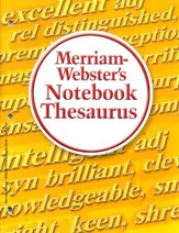 Merriam-Webster's Notebook Thesaurus