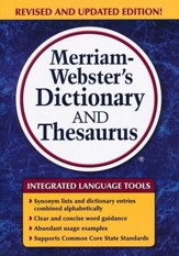 Merriam-Webster's Dictionary and Thesaurus (Revised and Updated Edition)