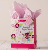 Beautiful Beyond Words Specialty Gift Bag, Medium