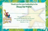 VBS 2015 Shining Star: See the Jesus in Me - Leader Certificates (Pkg of 10)
