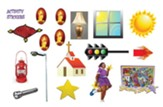 VBS 2015 Shining Star: See the Jesus in Me - Activity Stickers Sheets (Pkg of 12)