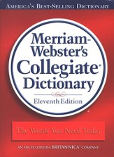 Merriam Webster's Collegiate Dictionary, Jacketed Hardcover without Index, 11th Edition