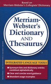 Merriam-Webster's Dictionary & Thesaurus