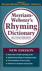Merriam Webster's Rhyming Dictionary, 2nd Edition