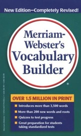 Merriam-Webster's Vocabulary Builder, Expanded &  Revised Edition