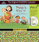 Mom's Plan-It 2015 Wall Calendar with Scripture