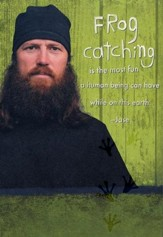 Duck Dynasty, Jase, Frog Catching Birthday Cards, Pack of 6